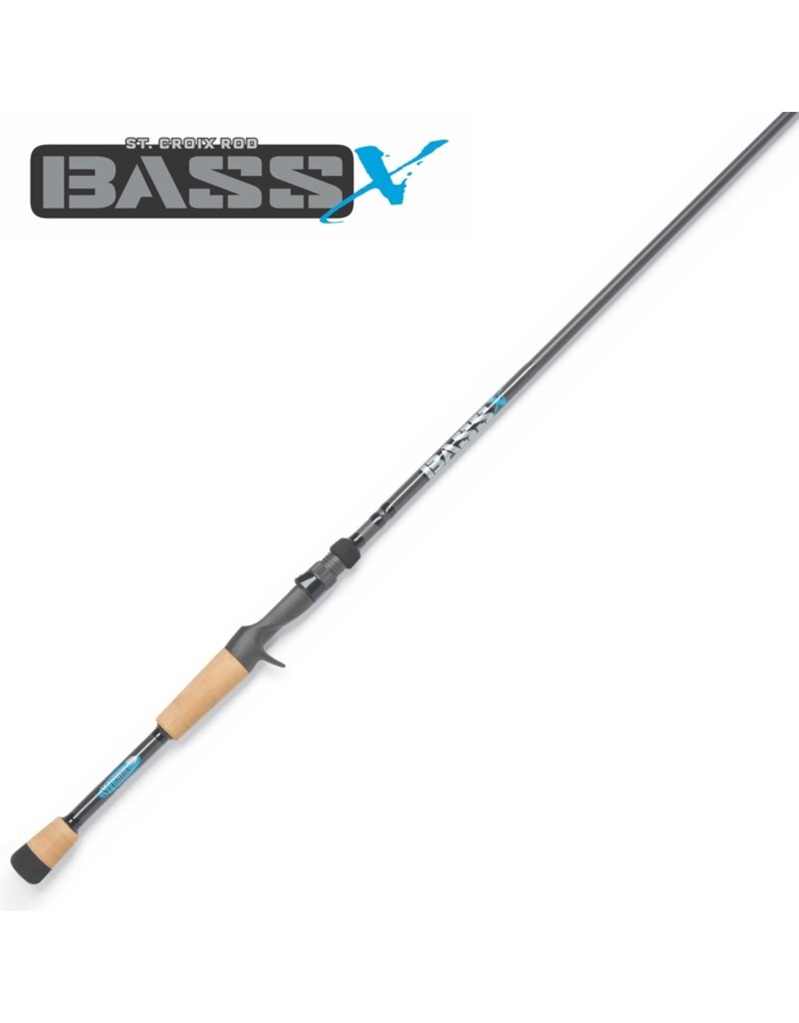 St. Croix Bass X Casting Rods 7'4 HF