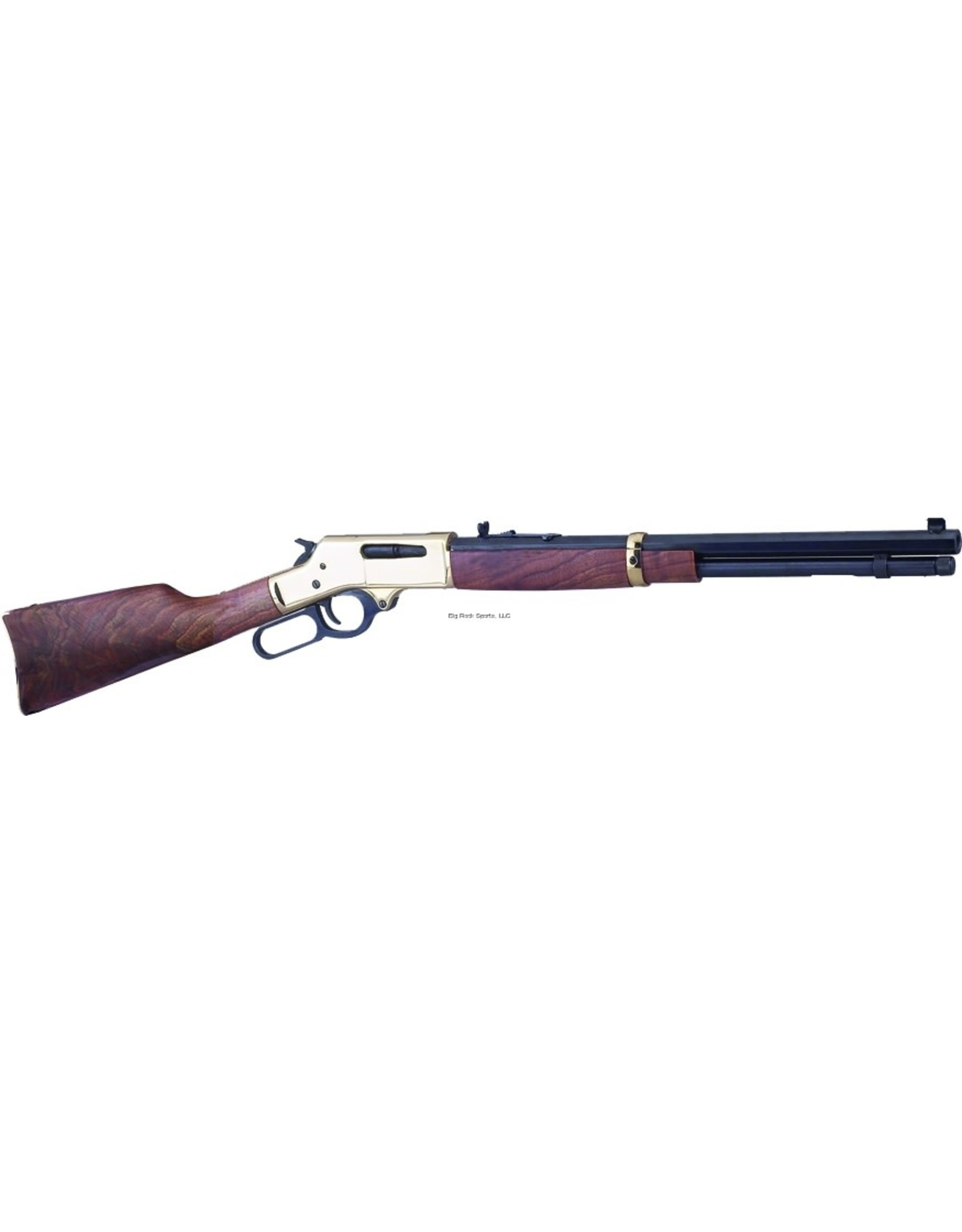 Henry Firearms Henry H009B Lever Action Rifle 30-30 WIN, RH, 20 in, Blue, Wood Stk, 5+1 Rnd