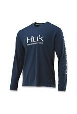 Huk Huk Icon X Long Sleeve Sargasso Sea