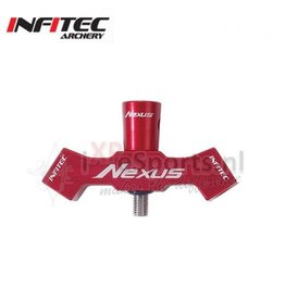 Infitec Infitec Nexus Solid B-Bar Bracket - Red