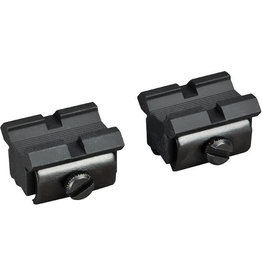 WEAVER MOUNTS WEAVER 48459 Aluminum Bair Pair Matte 3/8 Dovetail to Weaver Style