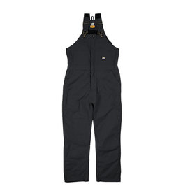 Berne Men's Deluxe Insulated Bib Overall BLACK XL