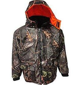 WFS Men's Warp Knit Waterproof Insulated Jacket BURLY TAN M