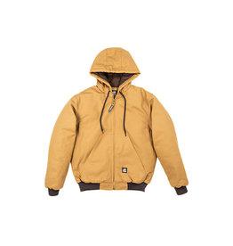 Berne Men's Original Hooded Jacket BROWN DUCK MEDIUM