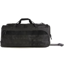 Highland Tactical H.T Squad Rolling Duffel Black
