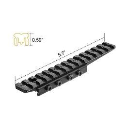 UTG UTG Universal Dovertail to Picatinny Weaver Adapter