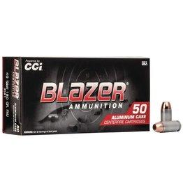 CCI Blazer 40 S&W 180gr FMJ 50ct