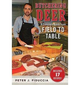 Book - Butchering Deer
