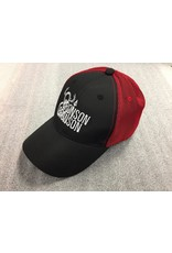 AJM International Unisex Adult Bronson & Bronson Hat O/S Black/Red