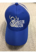 AJM International Unisex Adult Bronson & Bronson Hat O/S Blue/White