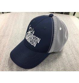AJM International Unisex Adult Bronson & Bronson Hat O/S Navy/White