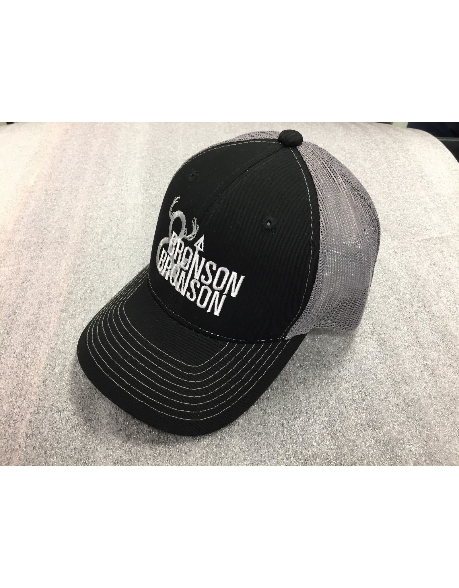 AJM International Unisex Adult Bronson & Bronson Hat O/S Black/Slate