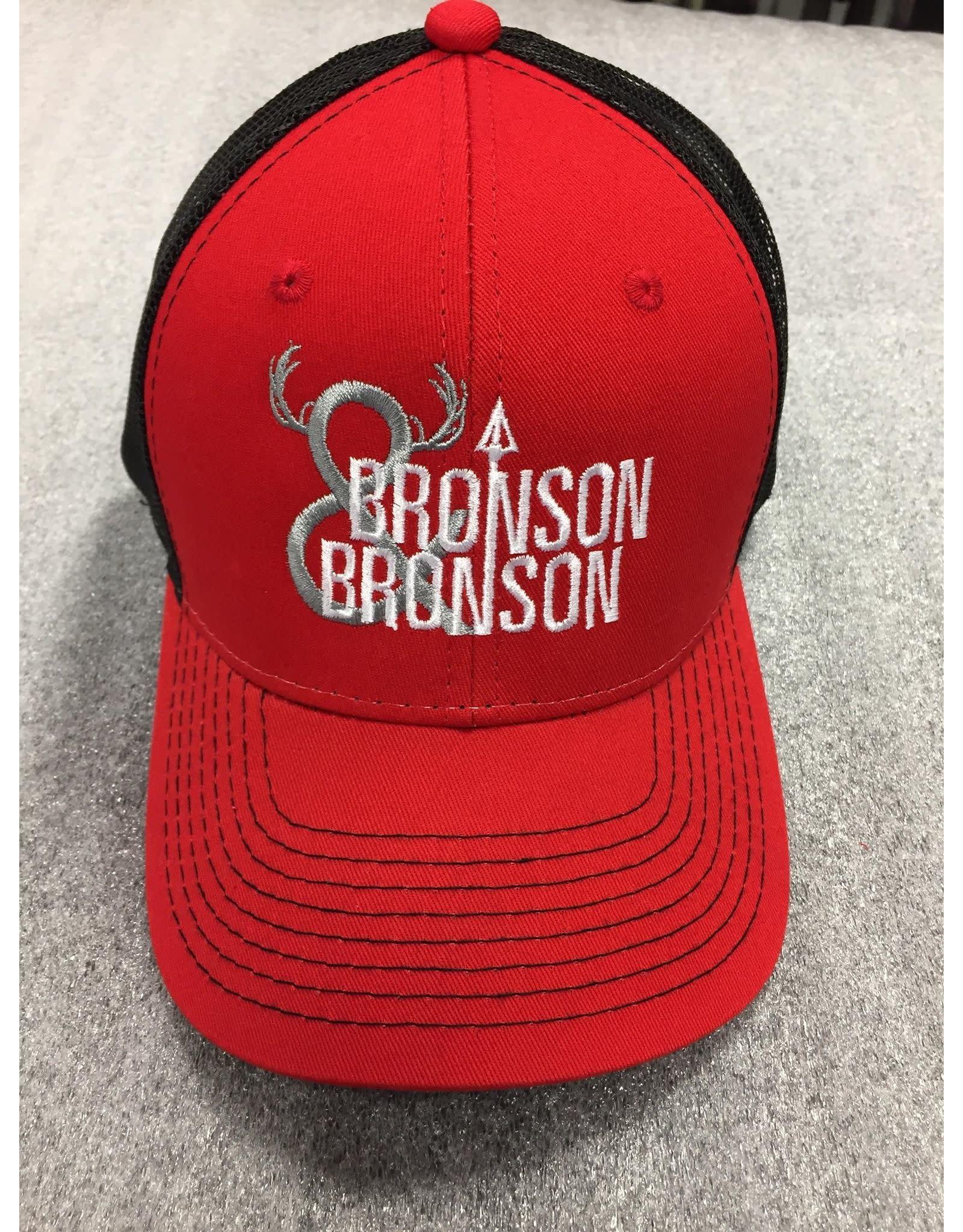 AJM International Unisex Adult Bronson & Bronson Hat O/S Red/Black