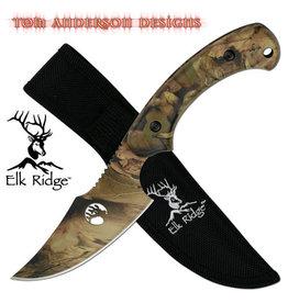 "Elk Ridge TA-28 FIXED BLADE KNIFE 8"" OVERALL"