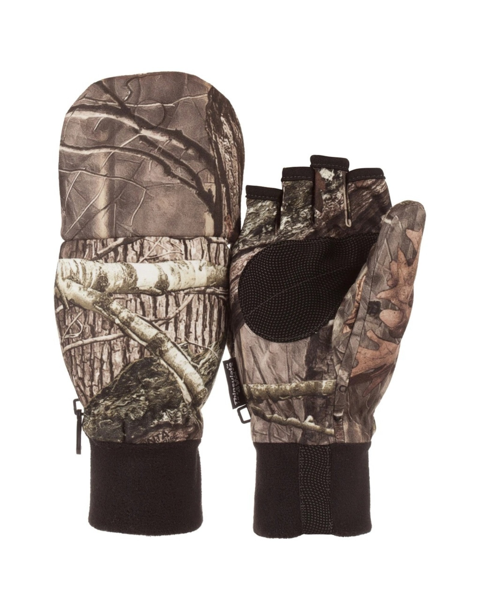 Huntworth Men's Stealth Hunting Gloves w Pop Top