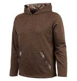 Huntworth Men's Knit Jersey Hoodie Brown