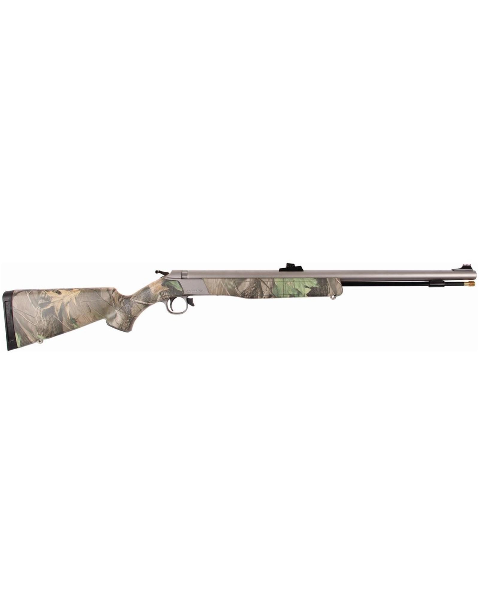 "CVA CVA Wolf .50cal Muzzleloading Rifle Fiber Optic Sights 24"" SS Barrel PR2112S"