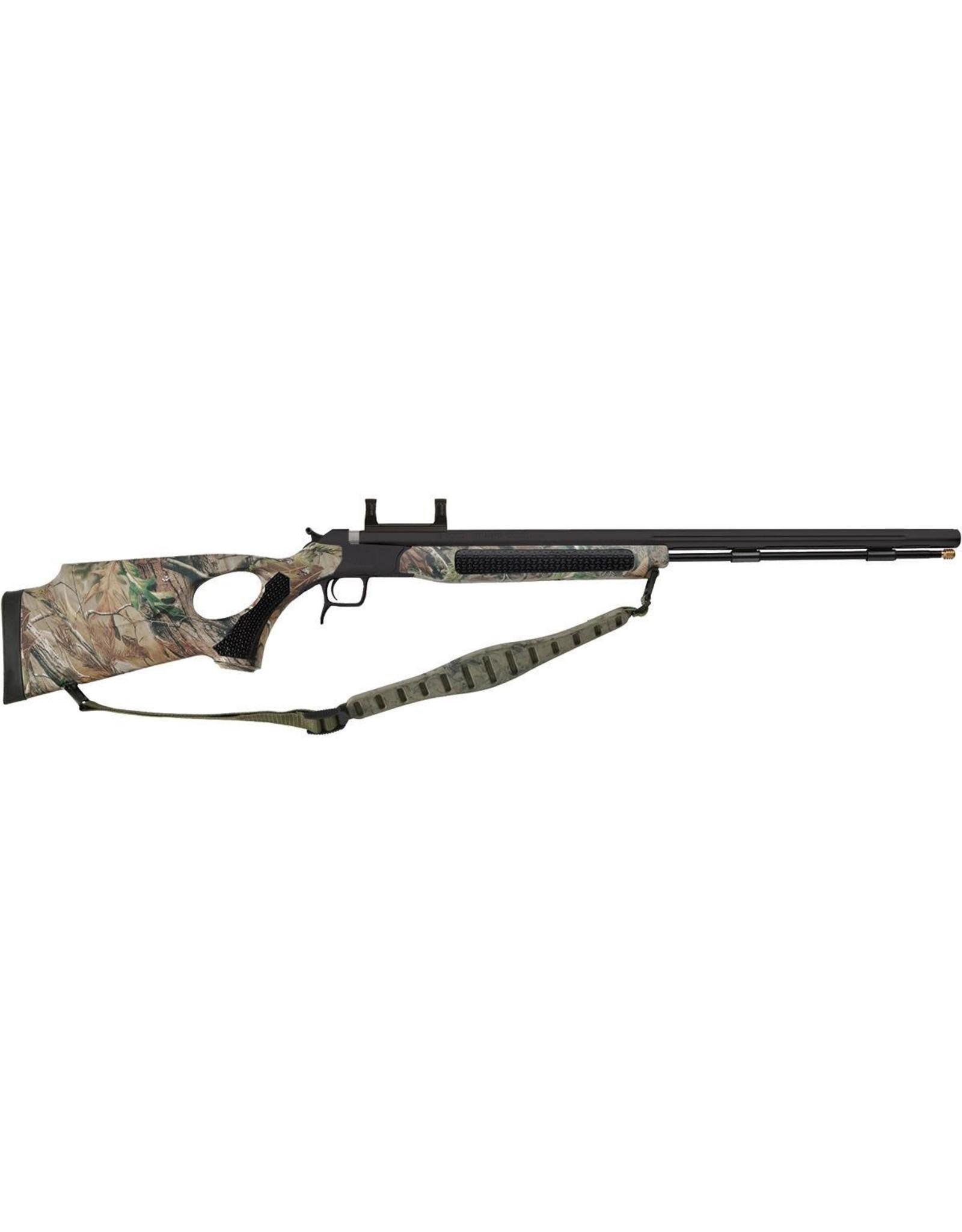 """CVA CVA Accura V2 .50cal Muzzleloading Rifle PR3122SNM Integral Scope Mount 27"""" Nitride Fluted Barrel Realtree TH Edge Camo Includes Sling"""