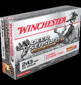 Winchester Winchester 243 WIN 85GR Deer Season Copper Impact