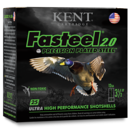 "Kent Cartridge Kent Faststeel 2.0 12G 3 1/2"" 1 3/8oz 1550FPS - BB"