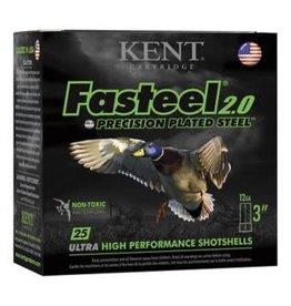 """Kent Cartridge Kent Faststeel 2.0 12g 3"""" 1 1/4"""" #3 1500fps"""