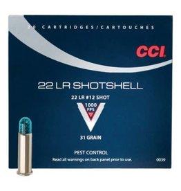 CCI CCI Shotshell 22 EX LR Pest Control