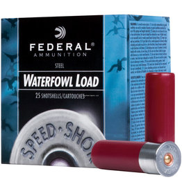 Federal Federal WF143-4 Speed-Shok Waterfowl Shotshell 12 GA, 3 in, No. 4, 1-1/8oz, 4.56 Dr, 1550 fps, 25 Rnd per Box