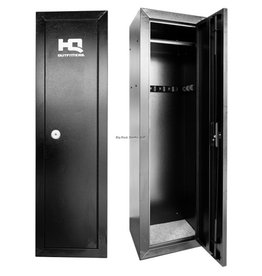 "HQ Outfitters HQ Outfitters - 14 Gun Steel Cabinet, 53""x17""x13.5"", Key Lock"