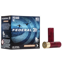 "Federal Federal - Speed Shok Waterfowl Shotshell 12 GA 3"" 1 1/4oz 1 25 Rnd per Box"