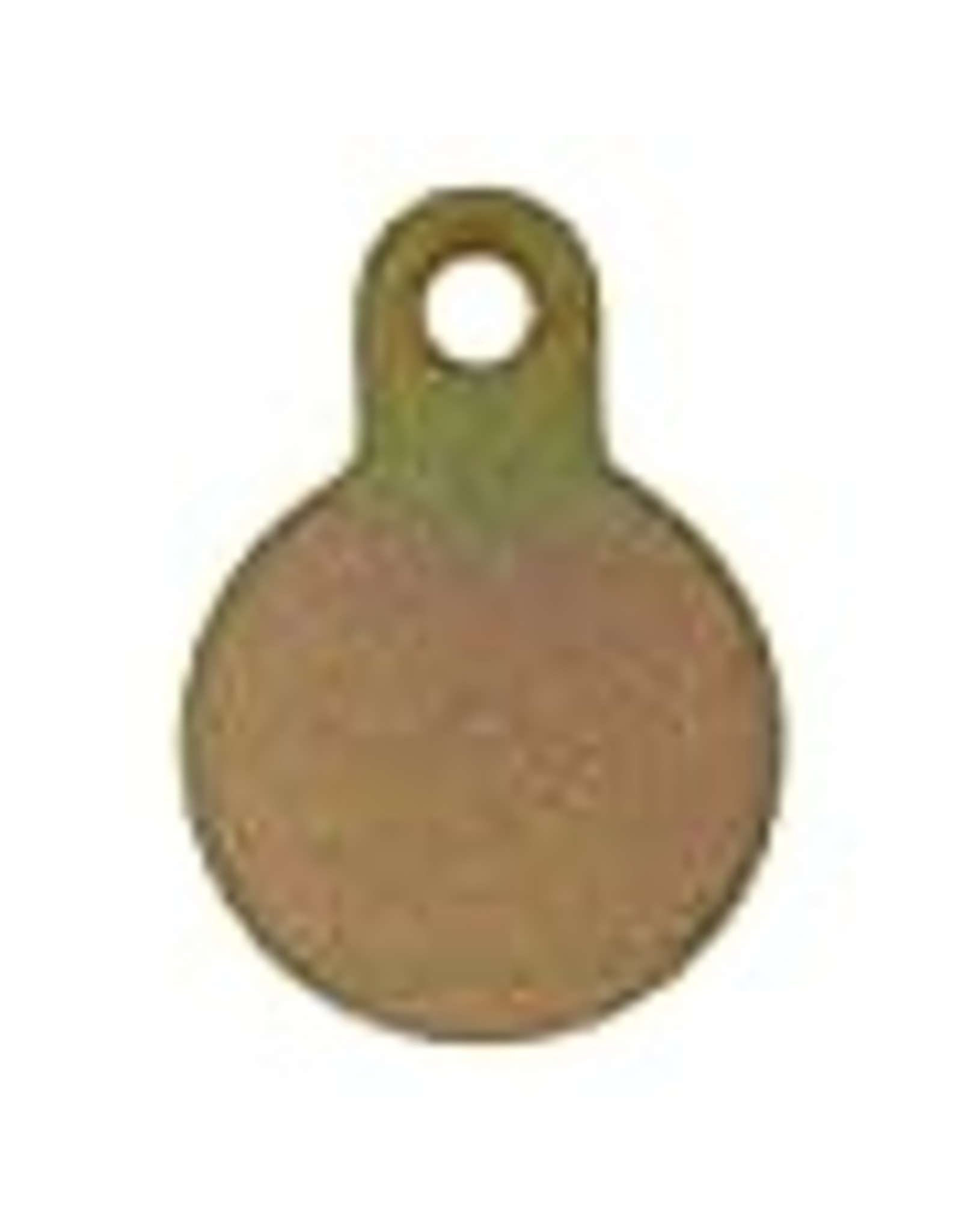 """AR500 Steel Gong Target - 3 x 3/8"""" (for rifles to 308)"""