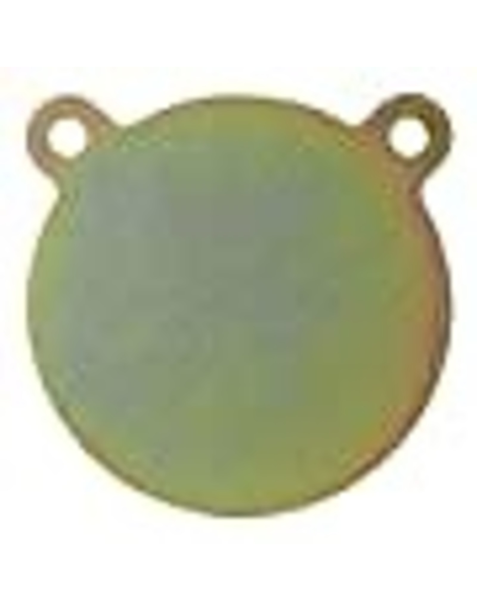 "AR500 Steel Gong Target - 6 x 1/4"" (for pistols and handguns)"