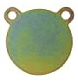 """AR500 Steel Gong Target - 4 x 1/4"""" (for pistols and handguns)"""