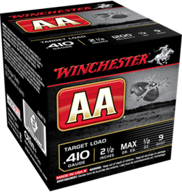 """Winchester Winchester AA 410GA  Target Load 2-1/2"""" 1/2oz #9 Shot 1200fps"""