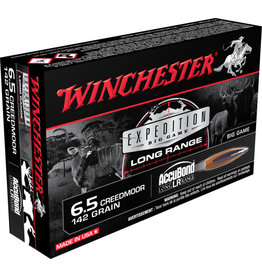 Winchester Winchester S65LR Expedition Big Game Long Range 6.5 Creedmoor 142gr. Accubond LR -20 rounds per box