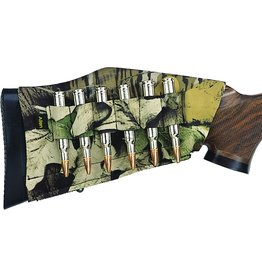 Allen Allen 20123 Neoprene Stretch Buttstock Shell Holder Rifle 6Rd Mossy Oak Breakup Country
