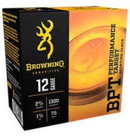 "Browning Browning 20GA 2 3/4"" #7.5 BPT Sporting Clays 1300 FPS 7/8oz 25ct"