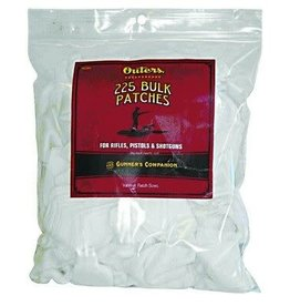 "OUTERS Outers 2""x2"" cotton cleaning patches 225 bulk"