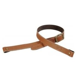 """Levy's 1"""" veg-tan leather rifle sling with brown suede"""
