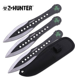 Z-Hunter Z Hunter Throwing Knife Set ZB-163-3BK