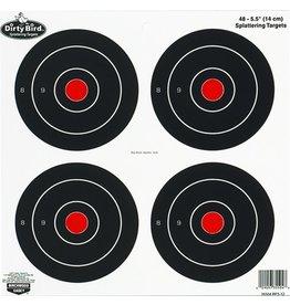 """Birchwood Casey Birchwood Casey 35504 Dirty Bird Bullseye 6"""" 48 Targets 12/Pk"""