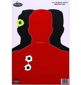 Birchwood Casey Birchwood Casey 35708 Dirty Bird Hostage 12x18 Target 8/Pk