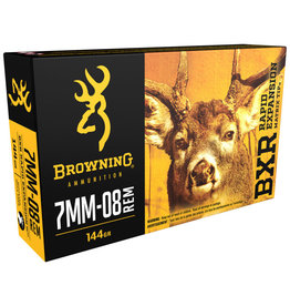 Browning Browning 7MM-08 144gr BXR Rapid Expansion Matrix Tip