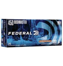 Federal Federal 450 Bushmaster 300Gr PowerShok Jacketed HP