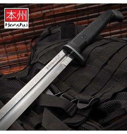 Honshu Honshu Boshin Damascus Double Edge Sword with Scabbard UC3245ND