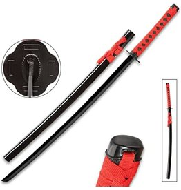Black & Red Dojo Training Katana XL1565