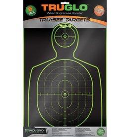 Truglo TRU-GLO TRU-SEE HANDGUN TARGET 6PK