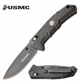 MTech Usa USMC  Manual Folding Knife M-1064BK