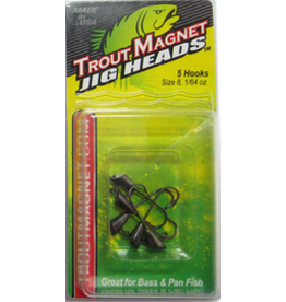 Leland Leland 87498 Trout Magnet 5pc Jig 1/64oz Black