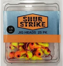 Shur Strike Shur Strike Hotball Jigs 1/8oz Orange/Chart
