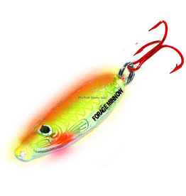 Northland Northland FMS3-24 Forage Minnow Spoon 1/8oz Super-Glo Chub 1Cd